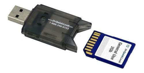 lector adaptador tarjeta memoria sd a usb - factura a / b