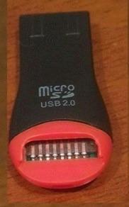 lector adaptador usb tarjetas micro sd + regalo gratis