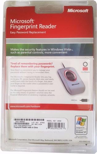 lector biometrico capta huella microsoft 100% original usa