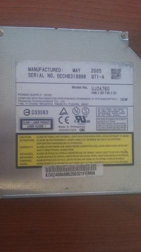 lector cd-dvd grabador cd ide panasonic ujda760