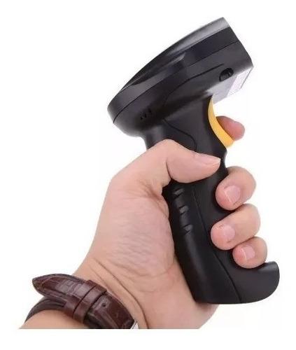 lector de codigo barras pistola laser inalambrica comercio