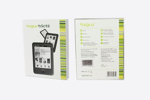 lector de libros electrónicos modelo tactil marca tagus