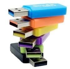 lector de memoria adaptador usb tipo pendrive