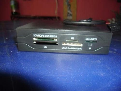 lector de memoria card reader interno para pc