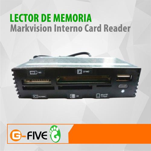 lector de memoria markvision interno card reader