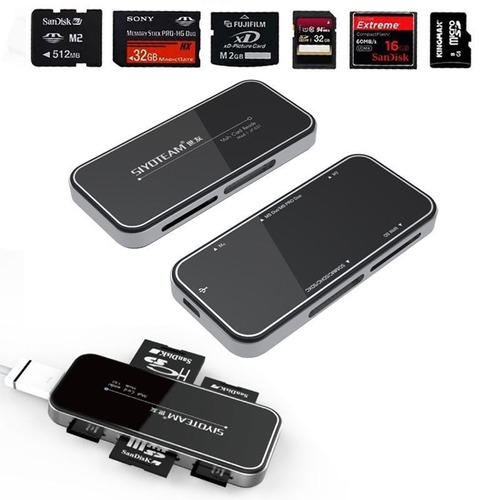lector de memoria micro sd, mini sd, sd,mini sd,etc siyoeam