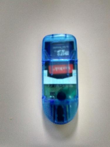 lector de memoria micro sd (tipo pendrive)