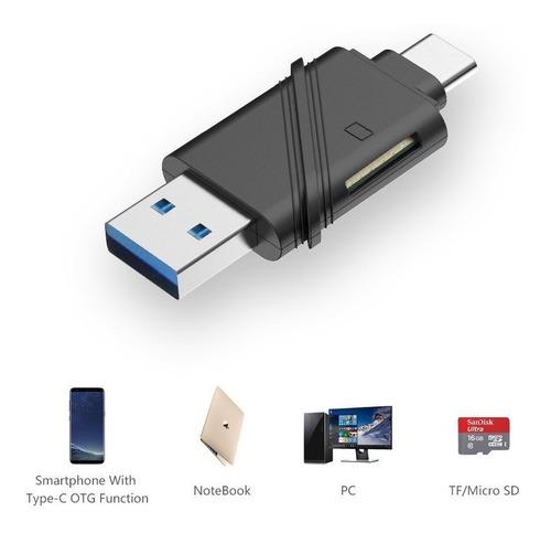 lector de memoria - unitek - usb-c + usb 3.0 micro sd pc/mac