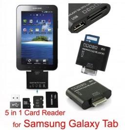 lector de memorias card reader 6en1+ usb para galaxy tab otg