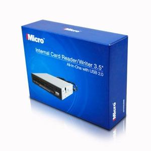 lector de memorias todo en 1 usb 2.0 card reader imicro 3.5