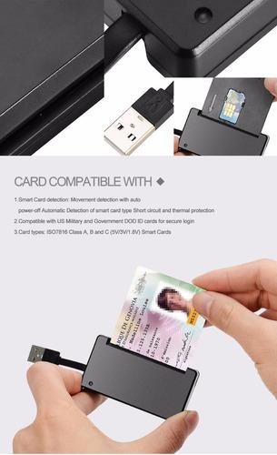 lector de tarjetas de identificación (smart card) - beca 18