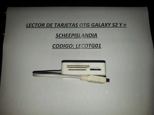 lector de tarjetas otg galaxy s2 y + lecotg01