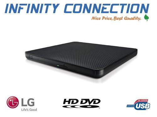lector externo cds dvd writer lg doble capa ultra slim  2017