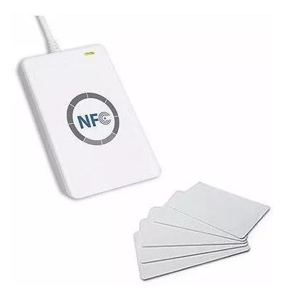 lector grabador usb smart card rfid nfc iso/iec18092 acr122u