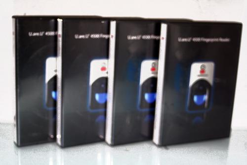 lector huella digital persona u.are.u 4500 nuevo, caja, sdk