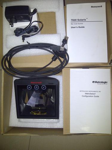 lector láser ms7820 solaris conexion usb honeywell ms7820