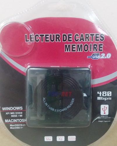 lector memoria multiple adaptador usb 2.0 micro sd produo xd