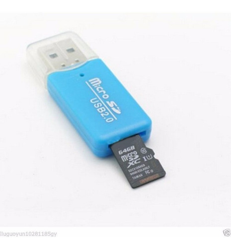 lector memoria usb 2.0 micro sd t-flash sdhc ms tf m2 galaxy