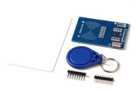 lector tarjeta ic sensor inducción rfid para arduino m5 mfrc