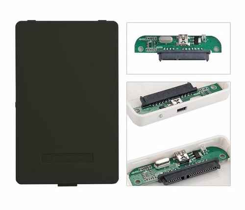 lectora carcasa para disco duro 2.5 pulgadas sata