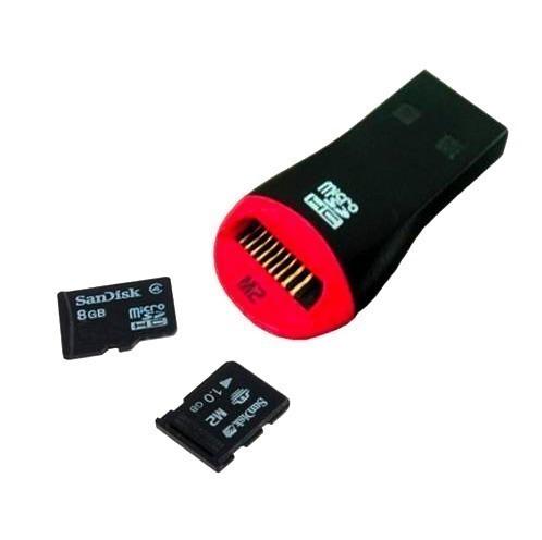 lector,adaptador de memoria usb de micro sd o m2