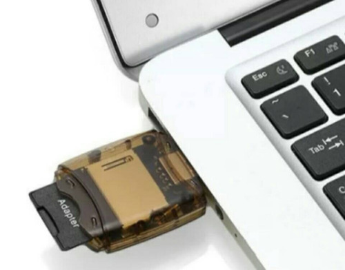 lectores de memoria usb: sd, xd, ms, mini sd