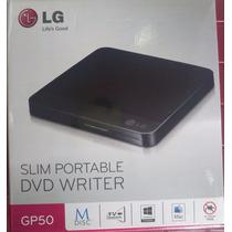 Unidad De Dvd Slim Lg - Quemadora Externa Portatil Tv - Pc