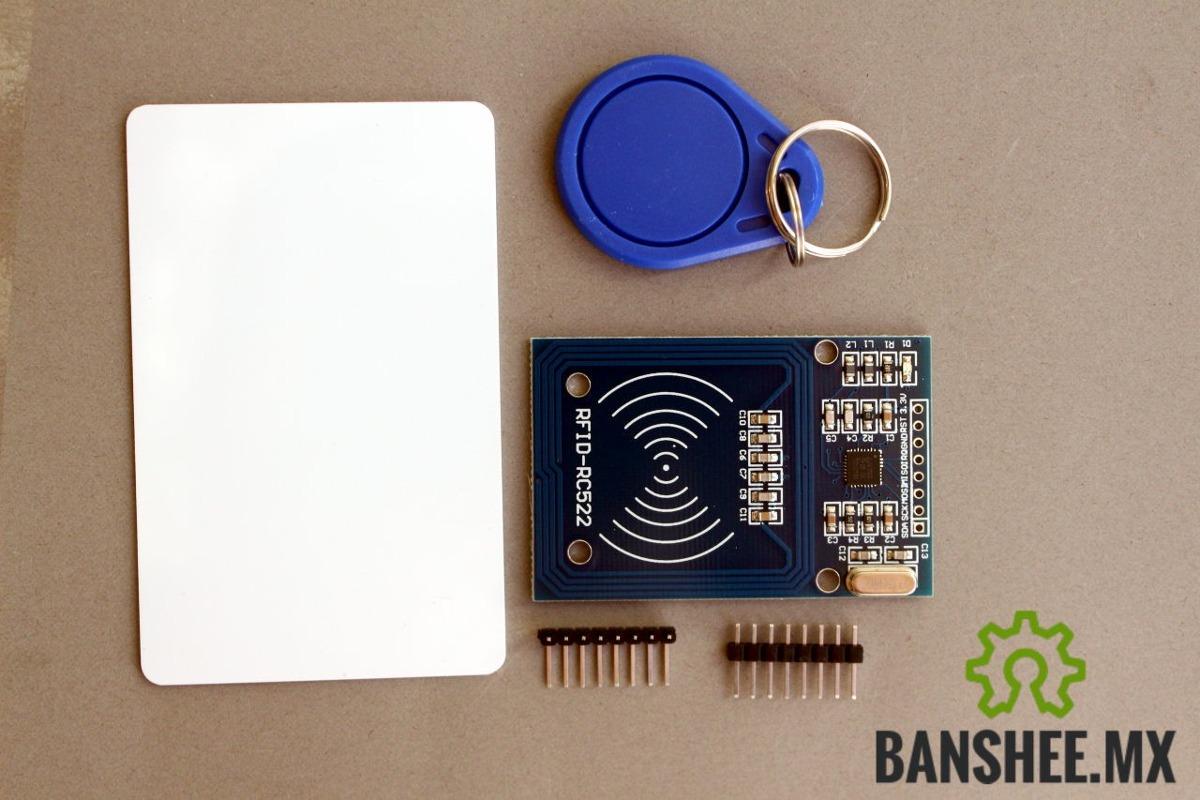 Lector/escritor Rfid Rc522 Nfc A 13 56mhz Incluye Tarjeta Y Llavero Para  Robotica Arduino Raspberry