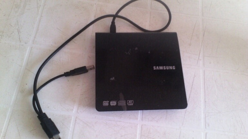 lector/grabador de cd dvd slim externo samsung writer se-208