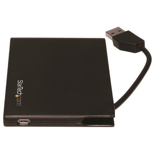 lector/grabador d/tarjeta startech.com dual usb 3.0 portátil