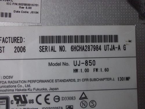 lector/quemador toshiba satellite a105-sp4071  vbf
