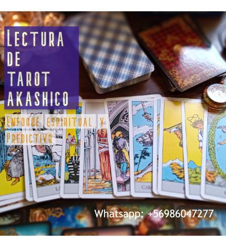 lectura de tarot akáshico, espiritual y predictivo.