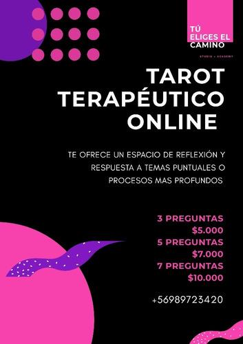 lectura de tarot terapéutico online