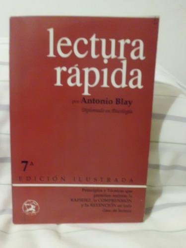 lectura rapida antonio blay editorial iberia