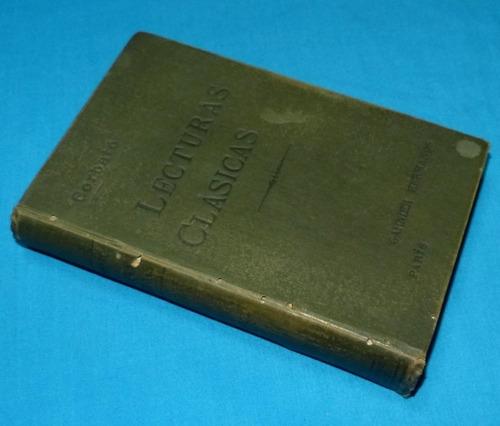 lecturas clásicas en prosa y verso josé domingo corbato 1899
