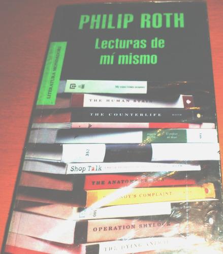 lecturas de mí mismo. philip roth.