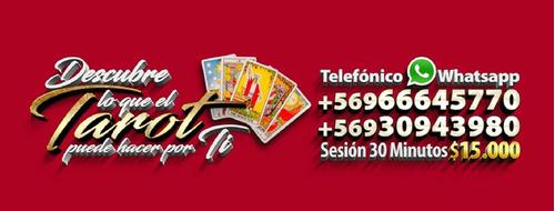 lecturas de tarot por telefono y whatsapp a todo chile