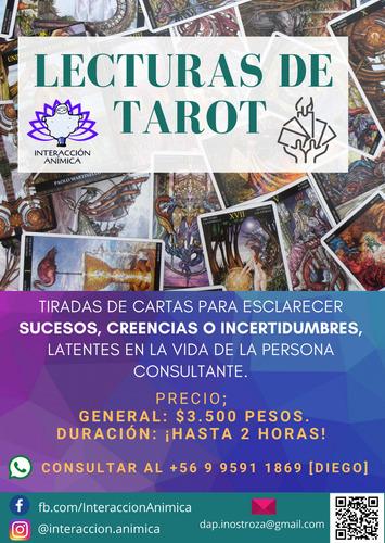 lecturas de tarot (presencial o por whatsapp) - buen precio