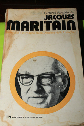 lecturas escogidas de jacques maritain