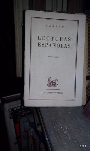 lecturas españolas azorín