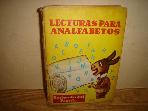 lecturas para analfabetos - enrique jardiel poncela