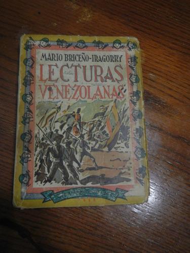 lecturas venezolanas mario briceño yragorry
