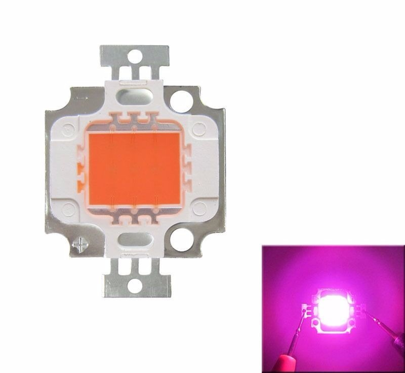 Led 10w de potencia led chip full spectrum cultivo indoor en mercado libre - Led para cultivo interior informacion ...