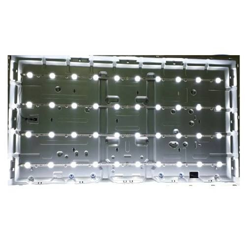 led 12 barras samsung un58h5203ag kit completo cabo energia
