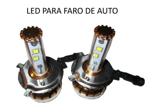 led 15/30w 2 focos 3900 lm sentra 99-03 alta/baja 9007-30w