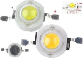 led 3w alta potencia cool blanco 6000 - 6500k