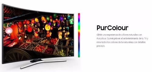 led 49  samsung curvo 49mu6500 4k ultra hd smart tv - oferta