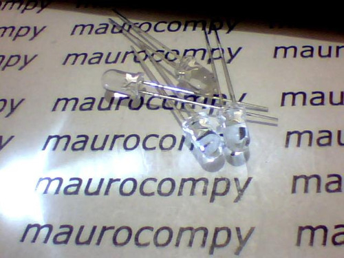 led 5mm branco alto brilho pct c/25pç por r$ 20,90 + frete.