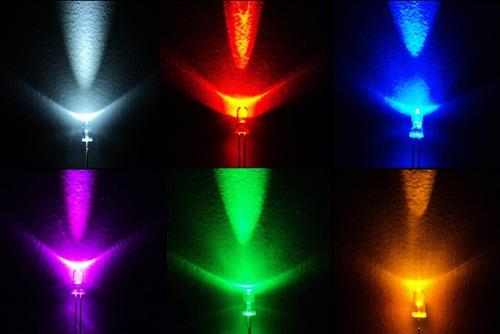 led 5mm ultra brillante 100 piezas ¡¡oferta!!