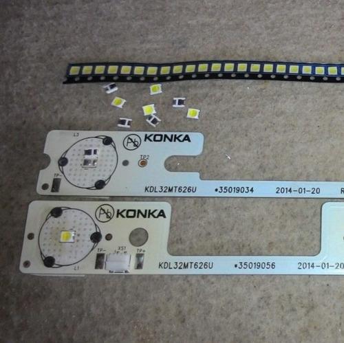 led 6v tv semp para manutenção em barra konka
